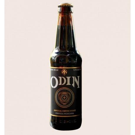 Cerveza artesanal odin ramuri Imperial coffe Stout quiero chela