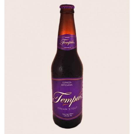 Cerveza artesanal tempus cream stout primus quiero chela