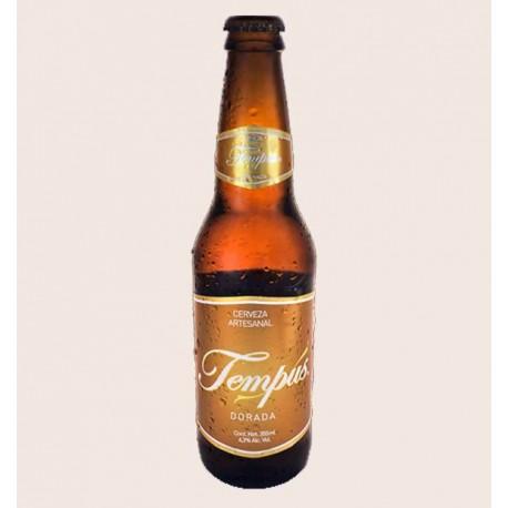 Cerveza artesanal tempus dorada primus Golden Ale quiero chela
