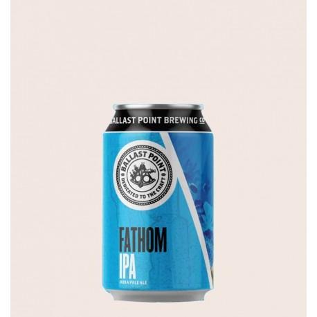 Cerveza importada fathom IPA ballast point quiero chela