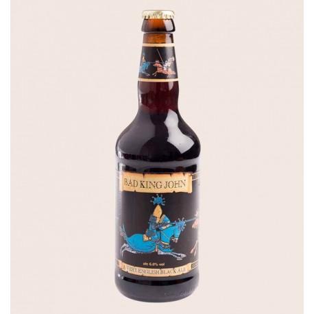 Cerveza importada bad king john dark ale quiero chela
