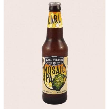 Cerveza importada mosaic ipa Karl Strauss quiero chela