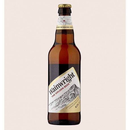 Cerveza importada wainwright golden ale Marstons Brewery quiero chela