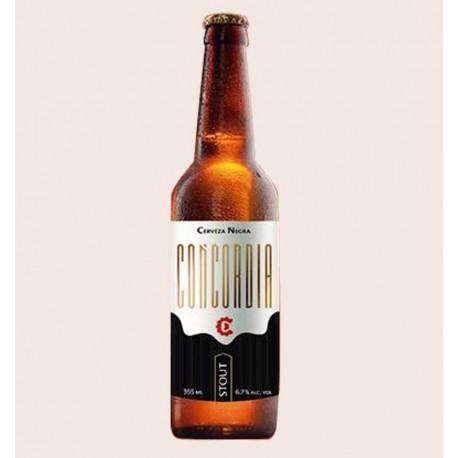 Cerveza artesanal concordia stout quiero chela