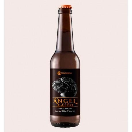 Cerveza artesanal angel caido Mead - Braggot concordia quiero chela