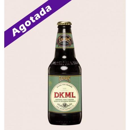 Cerveza importada dkml Founders Imperial Malt Liquor quiero chela