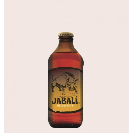 Cerveza artesanal jabali hellesbock primus quiero chela