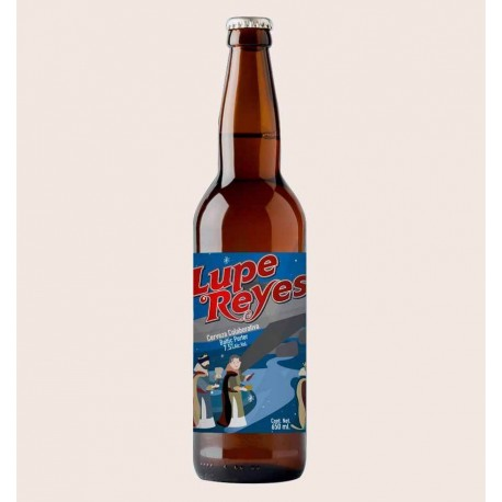 Cerveza artesanal lupe reyes minerva primus Winter Ale agotada quiero chela