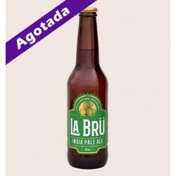 Cerveza artesanal la bru imperial ipa quiero chela