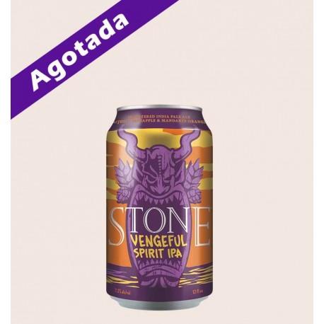 Cerveza importada california USA stone vengeful spirit ipa stone brewing quiero chela