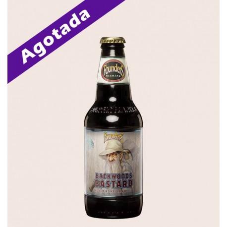 Cerveza importada backwoods bastard Scotch Ale founders quiero chela