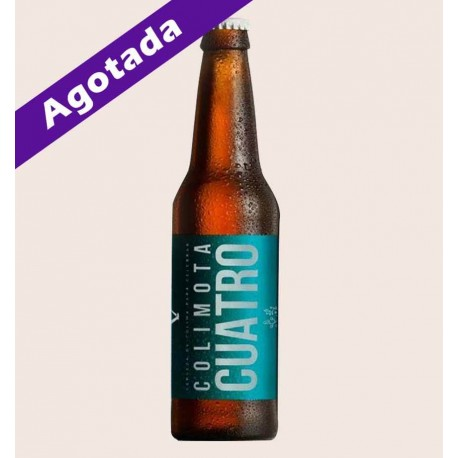Cerveza artesanal colimota cuatro white ipa quiero chela