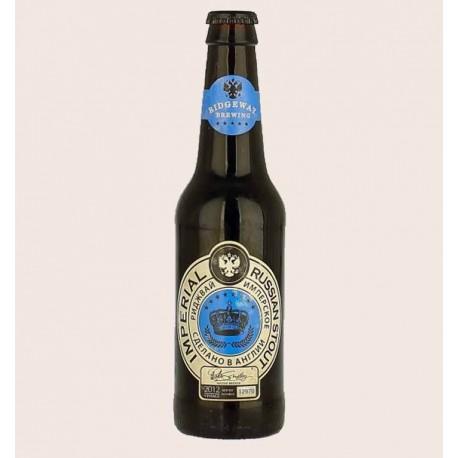 Cerveza importada imperial russian stout ridgeway quiro chela