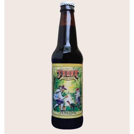 Cerveza artesanal penelope fauna Coffee Porter quiero chela