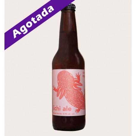 Cerveza artesanal monstruo de agua lichi ale quiero chela