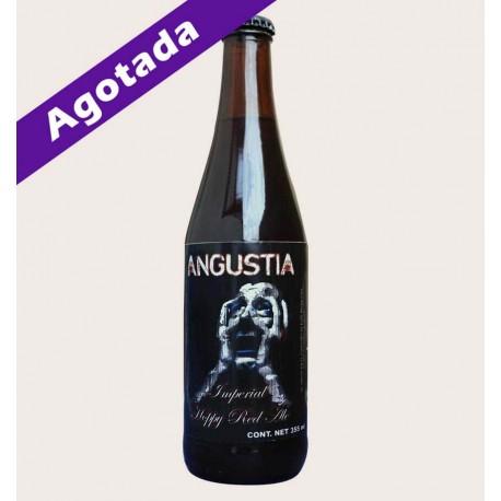 Cerveza artesanal angustia TMA Imperial Hoppy Red Ale quiero chela