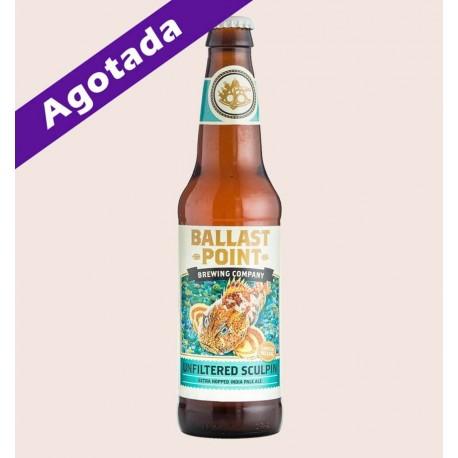 Cerveza americana importada unfiltered sculpin India Pale Ale sin filtrar quiero chela