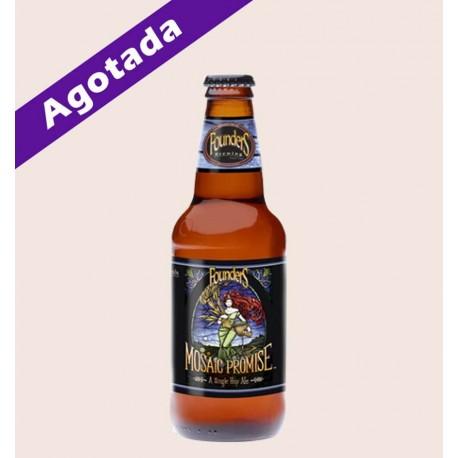 Cerveza importada mosaic promise IPA Founders quiero chela