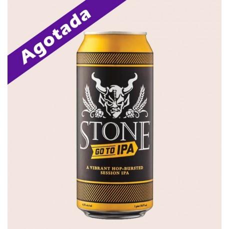 Cerveza importada stone go to ipa quiero chela