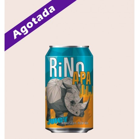Cerveza importada rino apa American Pale Ale epic brewing quiero chela