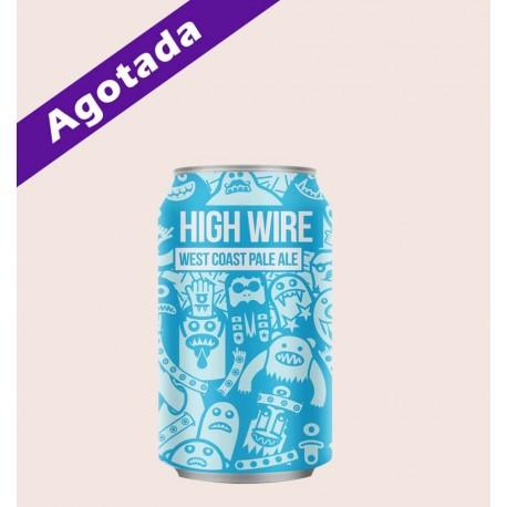 Cerveza importada high wire magic rock american pale ale quiero chela
