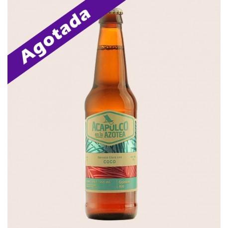 Cerveza artesanal acapulco en la azotea la chingoneria golden ale quiero chela