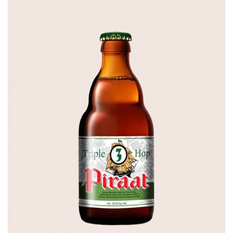 Cerveza belga importada piraat triple hop estilo Belgian Strong Golden Ale quiero chela