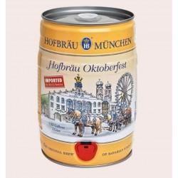 Cerveza importada German Helles - Oktoberfest HB Baril 5L quiero chela