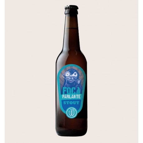 Cerveza artesanal foca parlante oatmeal stout wendlandt quiero chela