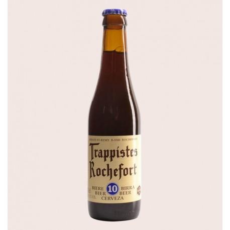 Cerveza importada trappistes rochefort 10 Belgian Quadrupel quiero chela