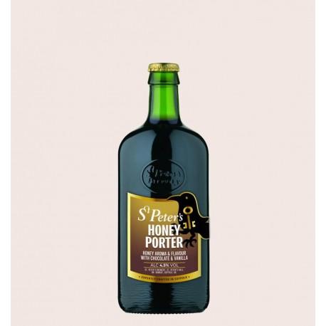 Cerveza importada honey porter St Peters quiero chela