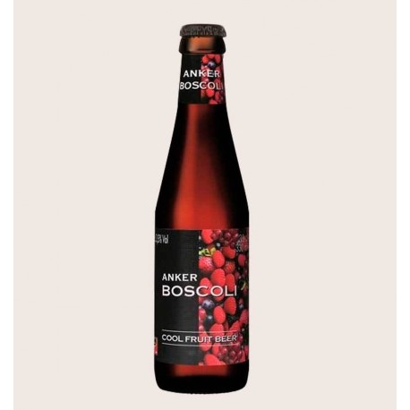 Cerveza importada boscoli frutas del bosque fruit beer quiero chela