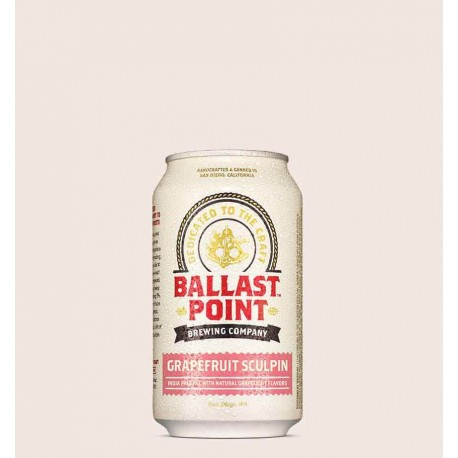 Cerveza artesanal grapefruit sculpin ballast point India Pale Ale con Toronja quiero chela