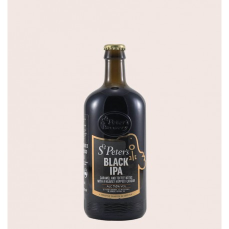 Cerveza importada inglesa st peters crafted black ipa quiero chela