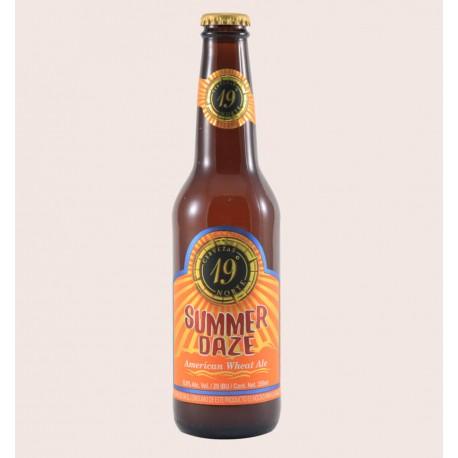 Cerveza artesanal summer daze 19 norte American Wheat Ale quiero chela