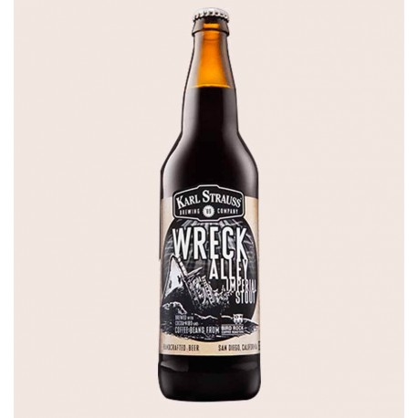 Cerveza artesanal wreck alley imperial stout Karl Strauss quiero chela