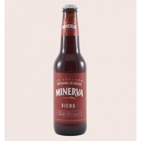 Cerveza artesanal minerva viena quiero chela