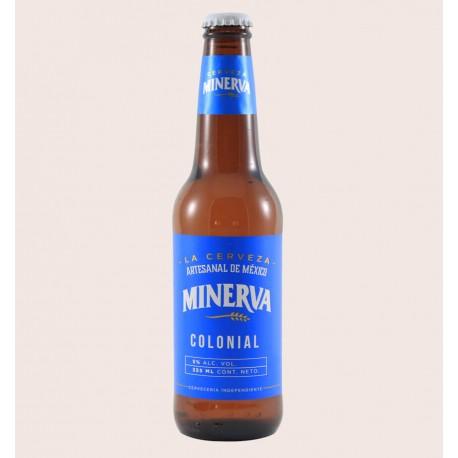 Cerveza artesanal minerva colonial Kölsch quiero chela