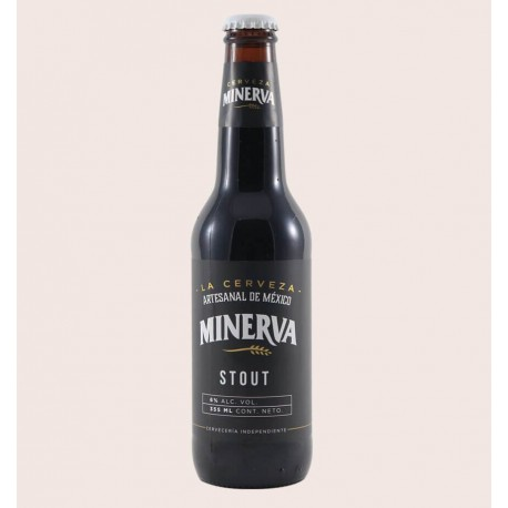 Cerveza artesanal minerva stout quiero chela
