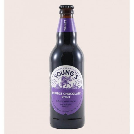 Cerveza inglesa importada double chocolate estilo Sweet Stout quiero chela
