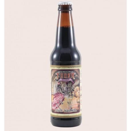 Cerveza artesanal danza macabra fauna Milk Stout quiero chela