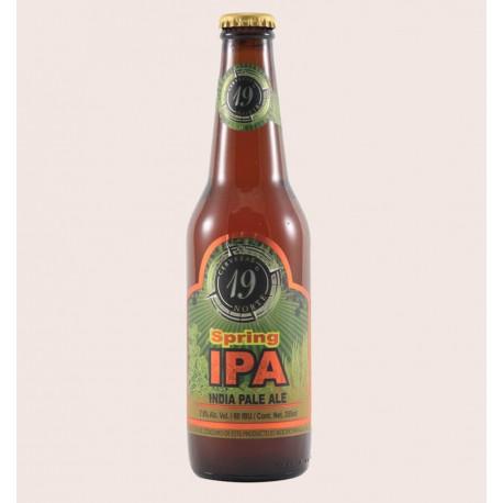 Cerveza artesanal spring ipa 19 norte quiero chela