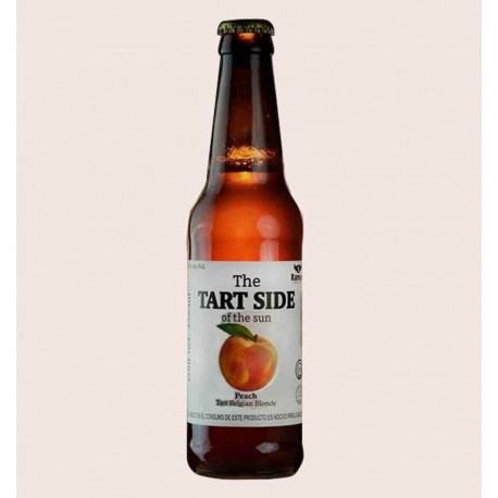 Cerveza artesanal the tart side of the sun peach ramuri estilo Belgian Blonde quiero chela