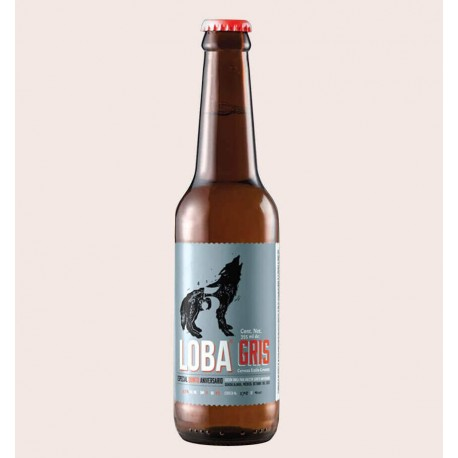 cerveza artesanal loba gris cerveceria loba estilo Grisette quiero chela