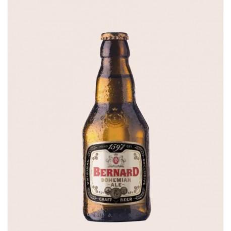 Cerveza importada bernard bohemian ale estilo belgian strong golden ale republica checa quiero chela