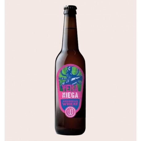 Cerveza artesanal veraniega wendlandt American estilo Witbier quiero chela