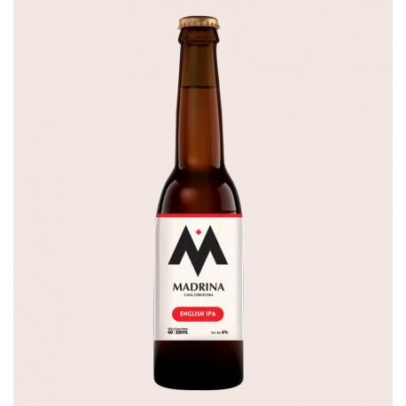 Cerveza artesanal madrina english ipa quiero chela