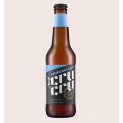 Cerveza artesanal cru cru lager quiero chela