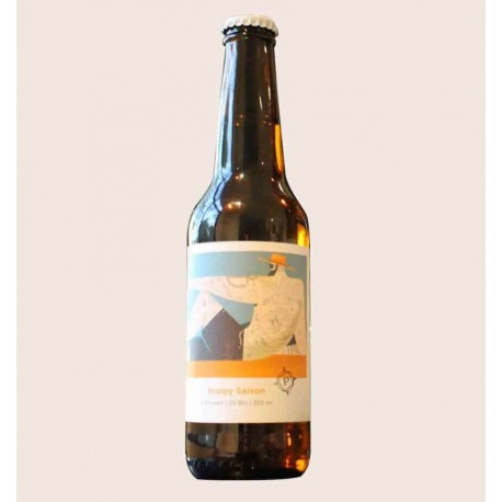 Cerveza artesanal belgian for the beach Hoppy Saison paracaidista quiero chela