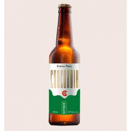 Cerveza artesanal concordia witbier quiero chela